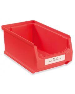 Etikett für Sichtlagerbox 2 (Pack. = 300 Stück)