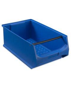 Box 5.1 - T500 x B300 x H200 mm - blau mit Griffstange