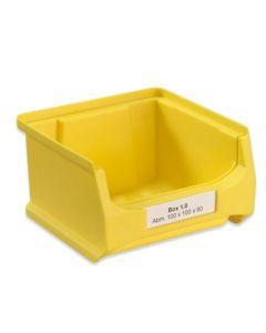 Etikett für Sichtlagerbox 1 (Pack. = 390 Stück)