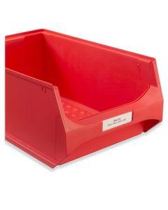 Etikett für Sichtlagerbox 5 / 5.1 (Pack. = 100 Stück)