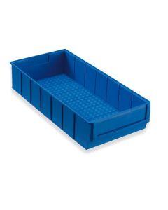Industriebox 400 B - T400 x B183 x H81 mm - blau