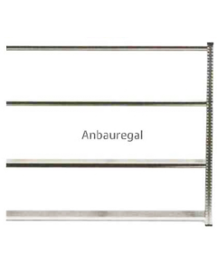 Anbauregal WS H2000 x B2100 x T600 mm (4 Fachböden)
