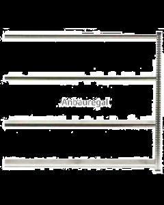 Anbauregal WS H2000 x B2100 x T1200 mm (4 Fachböden)
