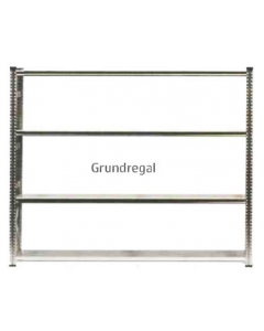 Grundregal WS H2000 x B2400 x T1000 mm (4 Fachböden)